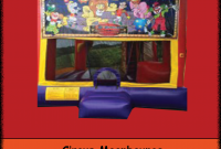 Epic Circus Moonbounce – Backyard Inflatables pertaining to Lovely Backyard Inflatables
