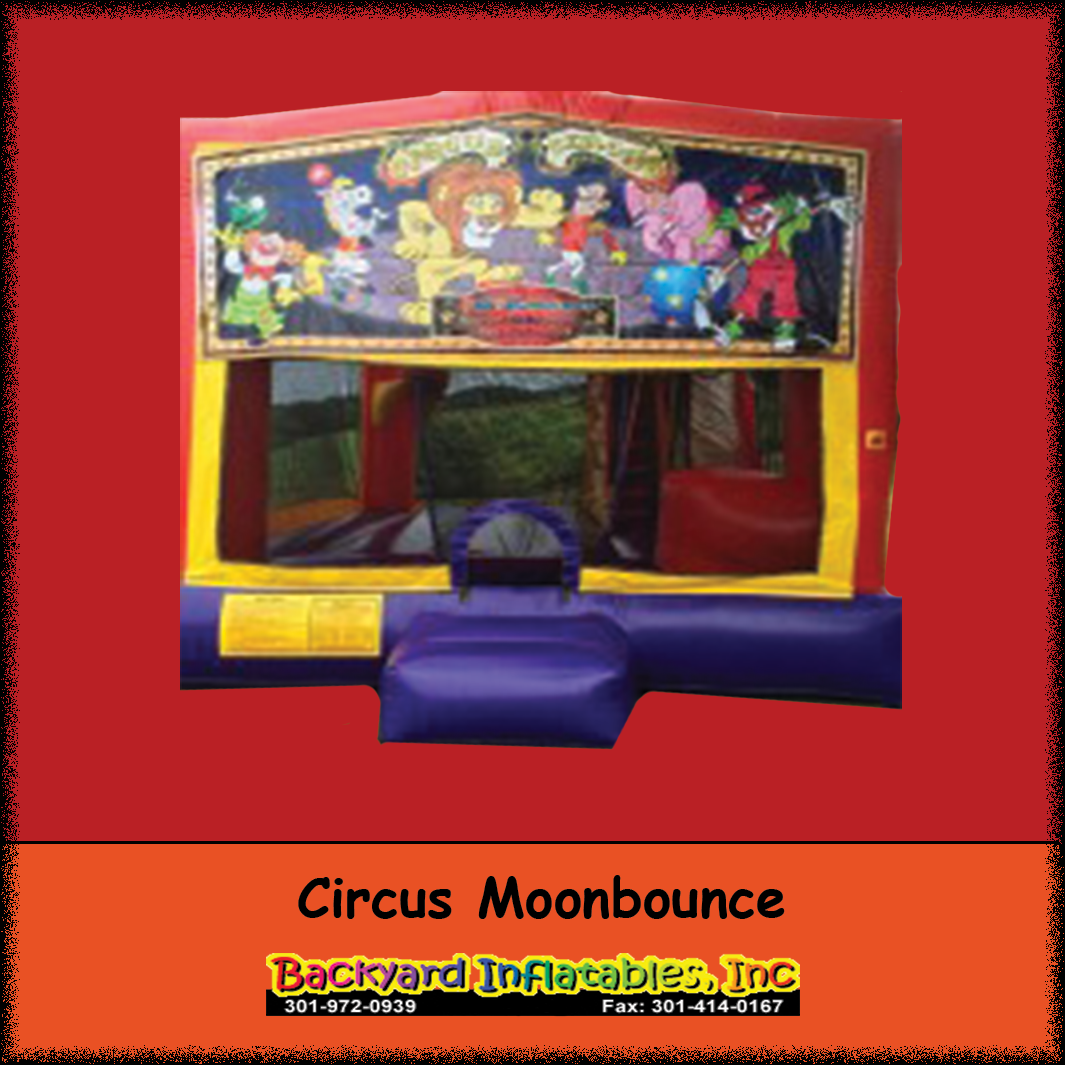 Epic Circus Moonbounce - Backyard Inflatables pertaining to Lovely Backyard Inflatables