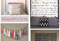 Epic Cool Pinterest Bedroom Decor Diy 14 #17590 pertaining to Review Diy Bedroom Decor