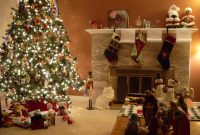 Epic Cosy Christmas Decorations Beautiful Homes Decorated For Christmas with New Christmas Living Room