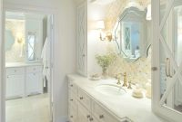 Epic Creative Large Bathroom Mirror With Classic White Vanity Using throughout Gold Bathroom Mirror