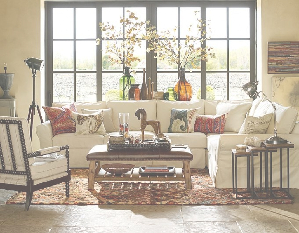 Epic Decorate Living Room Pottery Barn Style Archives - Home Design 2018 pertaining to Pottery Barn Living Room Ideas
