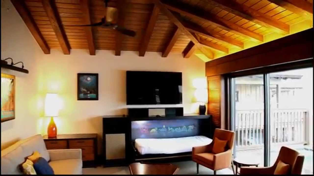 Epic Disney's Polynesian Resort Dvc Bora Bora Bungalows Room Tour At Walt with Beautiful Disney Polynesian Resort Bungalows