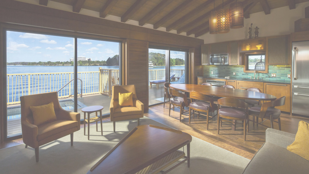Epic Disney's Polynesian Villas & Bungalows Fact Sheet | Walt Disney in Disney Polynesian Bungalows