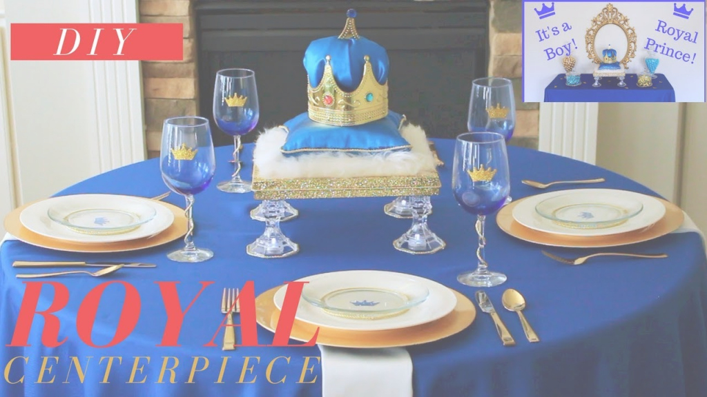 Epic Diy Royal Prince Baby Shower Ideas | Royal Prince Baby Shower regarding Luxury Royal Blue And Gold Baby Shower Ideas