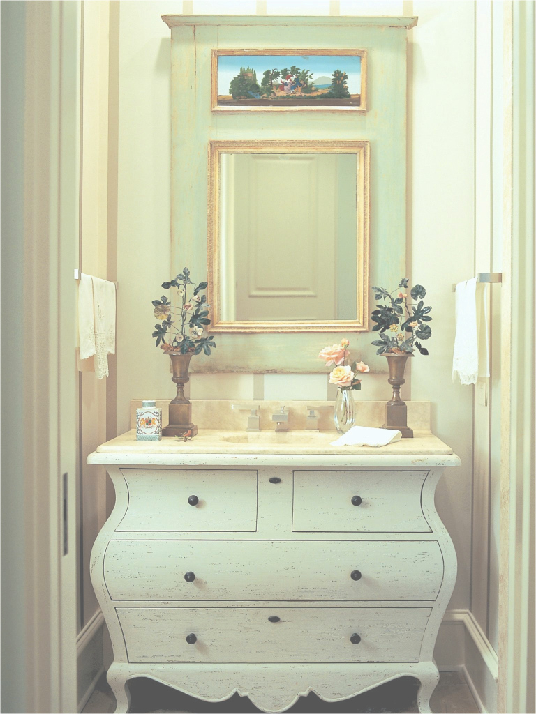 Epic Dresser Style Bathroom Vanity Elegant Ideas Chronosynchro Net Inside intended for Dresser Bathroom Vanity
