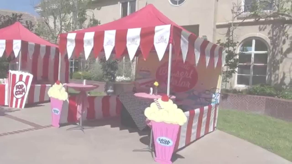 Epic Fabulous 50's Carnival Theme Party In Los Angeles - Youtube throughout 50S Theme Party Decorations
