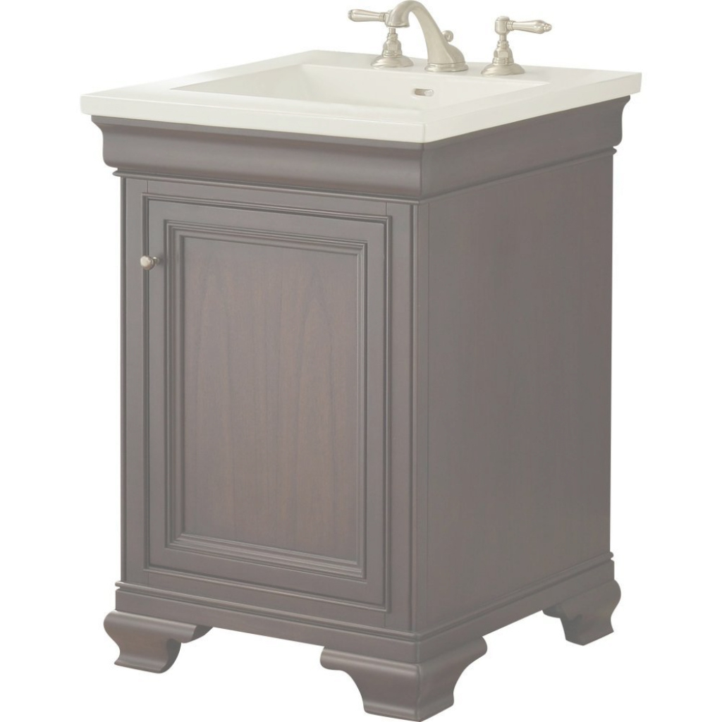 Epic Fairmont Designs 1529-V24 Providence Aged Chocolate Single Bowl inside Elegant Fairmont Bathroom Vanity