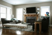 Epic Furniture Layout For Rectangular Living Room With Fireplace – Living with regard to Living Room Arrangement Ideas