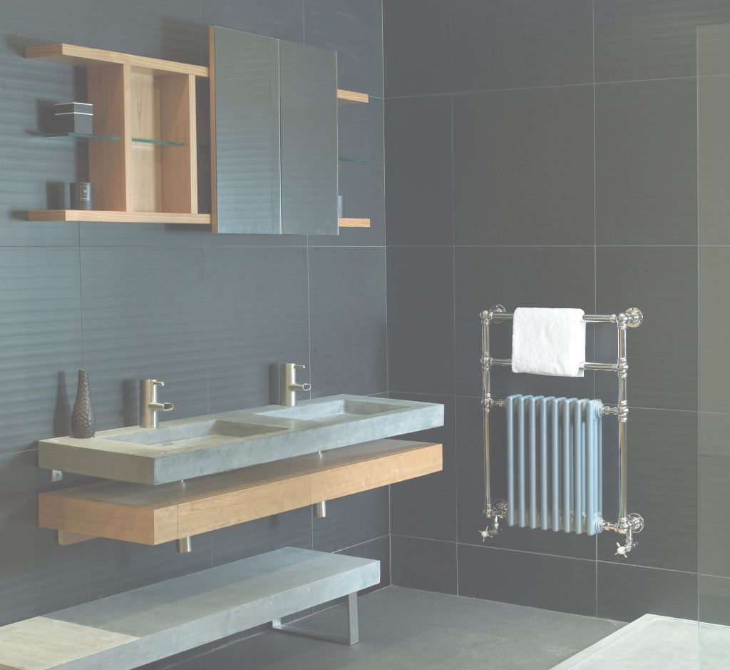 Epic Gainsborough Traditional Style Towel Radiator In Duck Egg Blue And with Duck Egg Blue Bathroom Ideas
