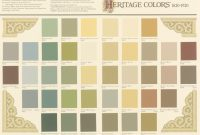 Epic Historic Paint Colors with 1930S Color Palette