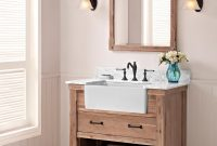 Epic Home Decor : Apron Front Bathroom Vanity 36 Farmhouse Amazon Com regarding Luxury Farmhouse Style Bathroom Vanity
