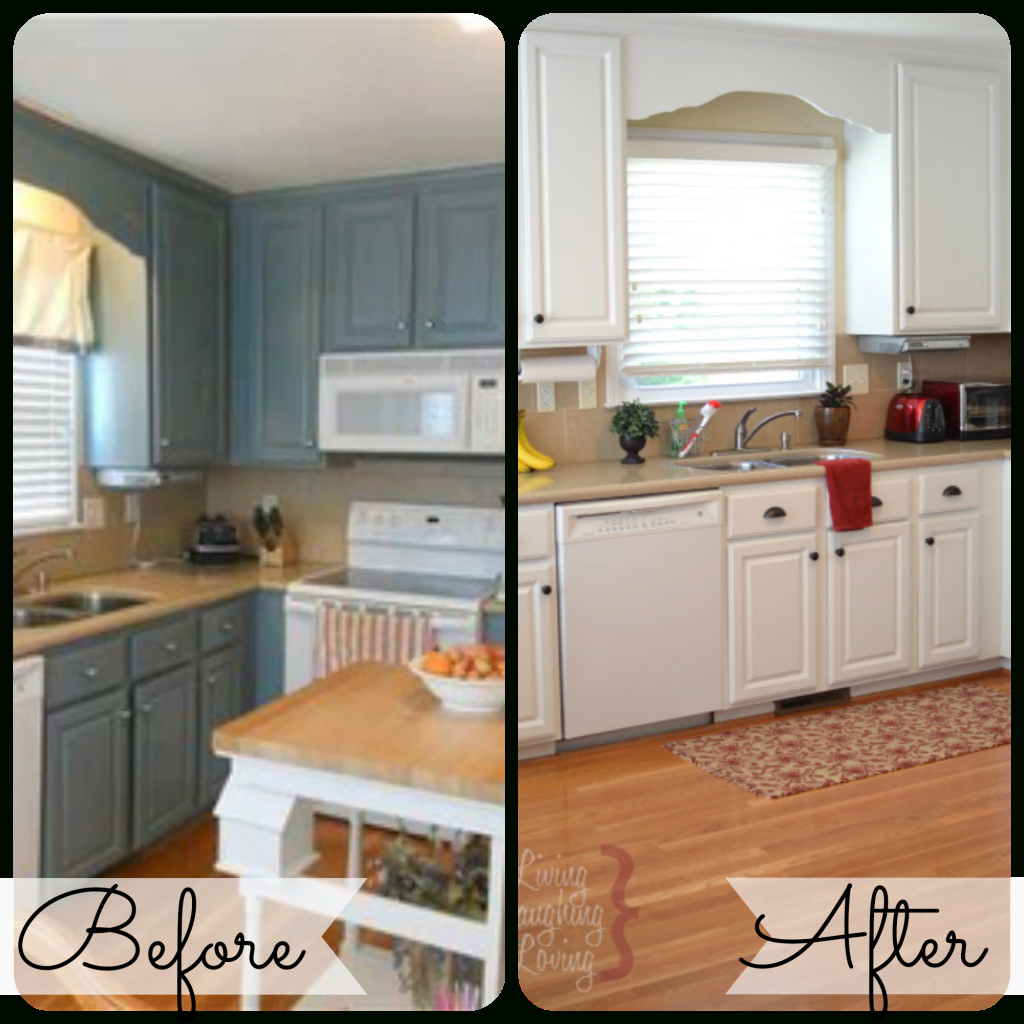Epic Home Decor On The V Side Kitchen Before After Painted Kitchen throughout Painted Kitchen Cabinets Before And After