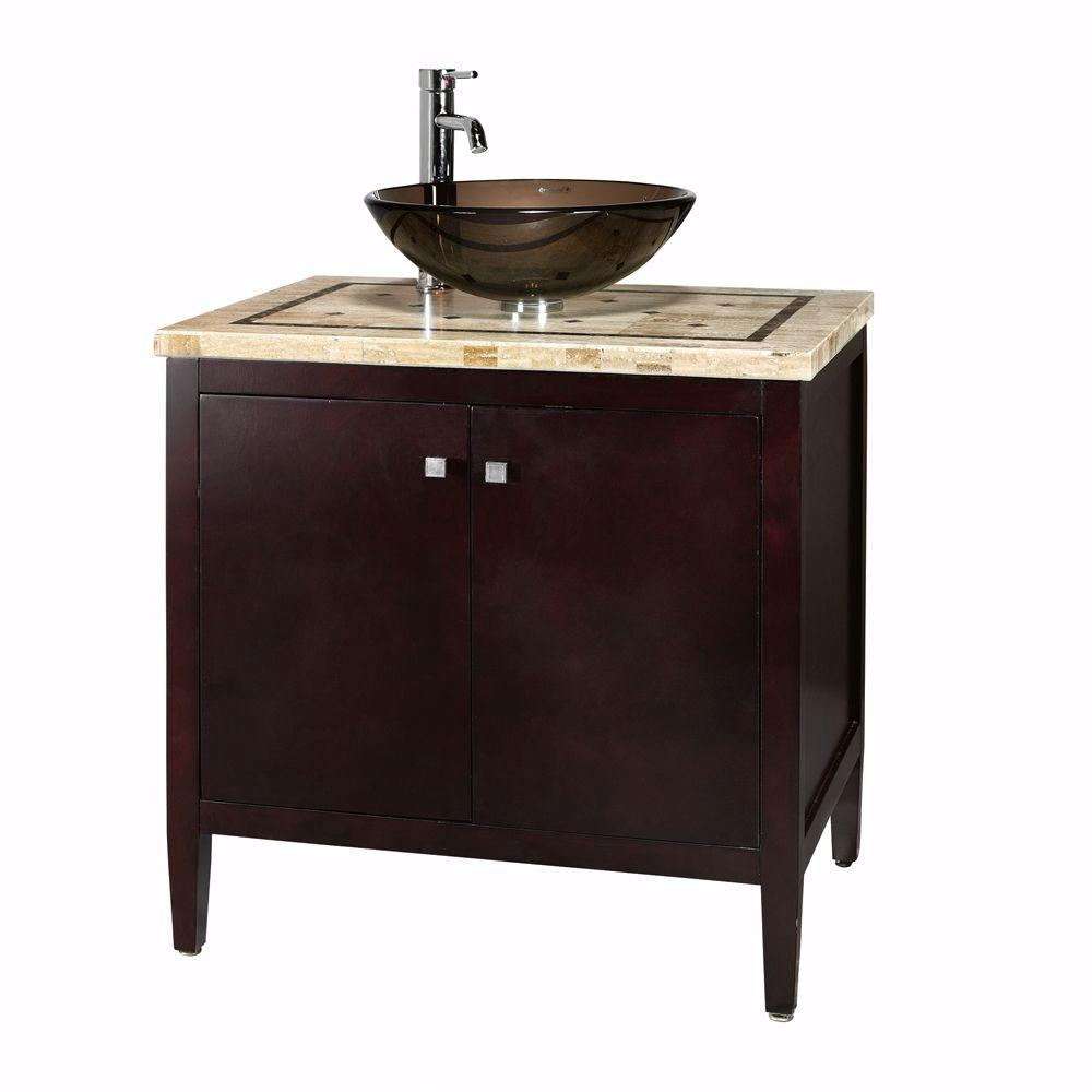 Epic Home Decorators Collection Argonne 31 In. W X 22 In. D Bath Vanity regarding Bathroom Sink And Vanity