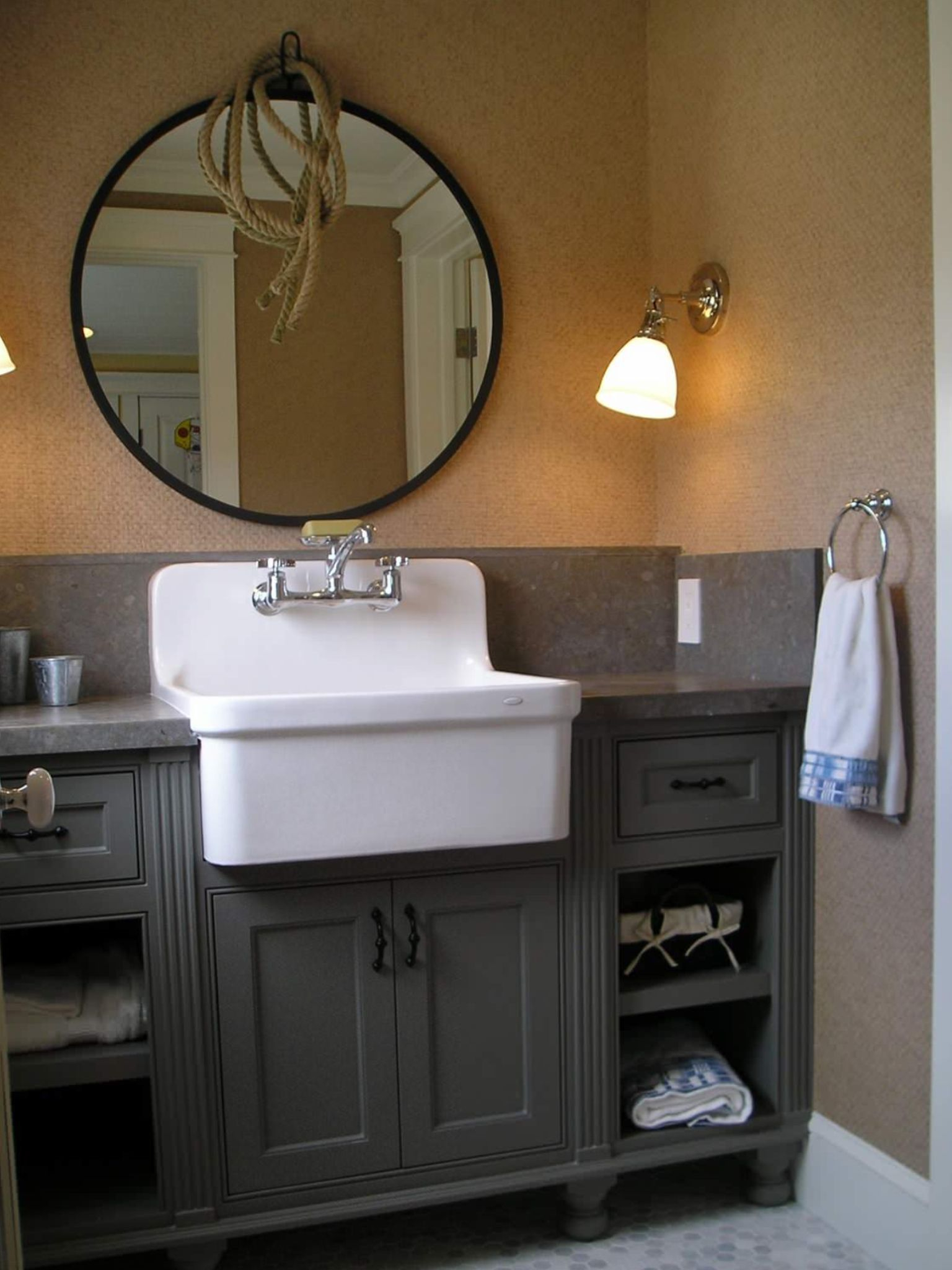 Epic Home Design : Farmhouse Sink Bathroom Vanity Also Stunning Farmhouse throughout New Farmhouse Sink In Bathroom