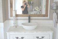 Epic Honest Review Of My Chalk Painted Bathroom Vanities pertaining to Painted Bathroom Vanity
