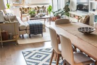 Epic House Tour: A Sophisticated Mixed & Matched Rental | Pinterest pertaining to Review Dining Room Layout