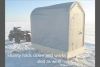 Epic Ice Fishing Shanty Plans..build Your Very Own Q – Youtube regarding Folding Ice Shanty Plans