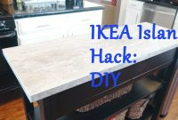Epic Ikea Island Top Hack – Diy – Youtube with regard to Ikea Hack Kitchen Island