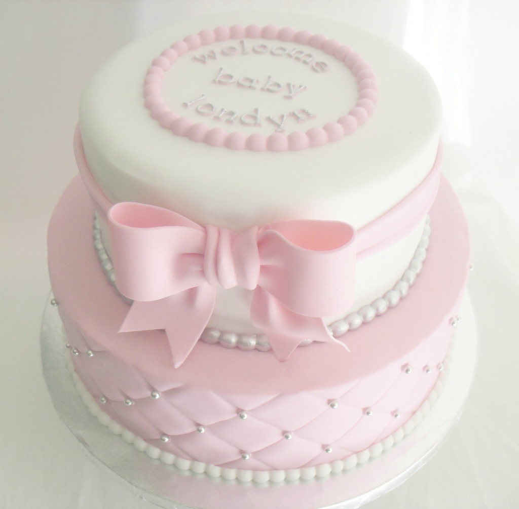 Epic Images Of Baby Shower Cakes | Made Fresh Daily: Quilted Pink And throughout Lovely Baby Girl Shower Cake Ideas