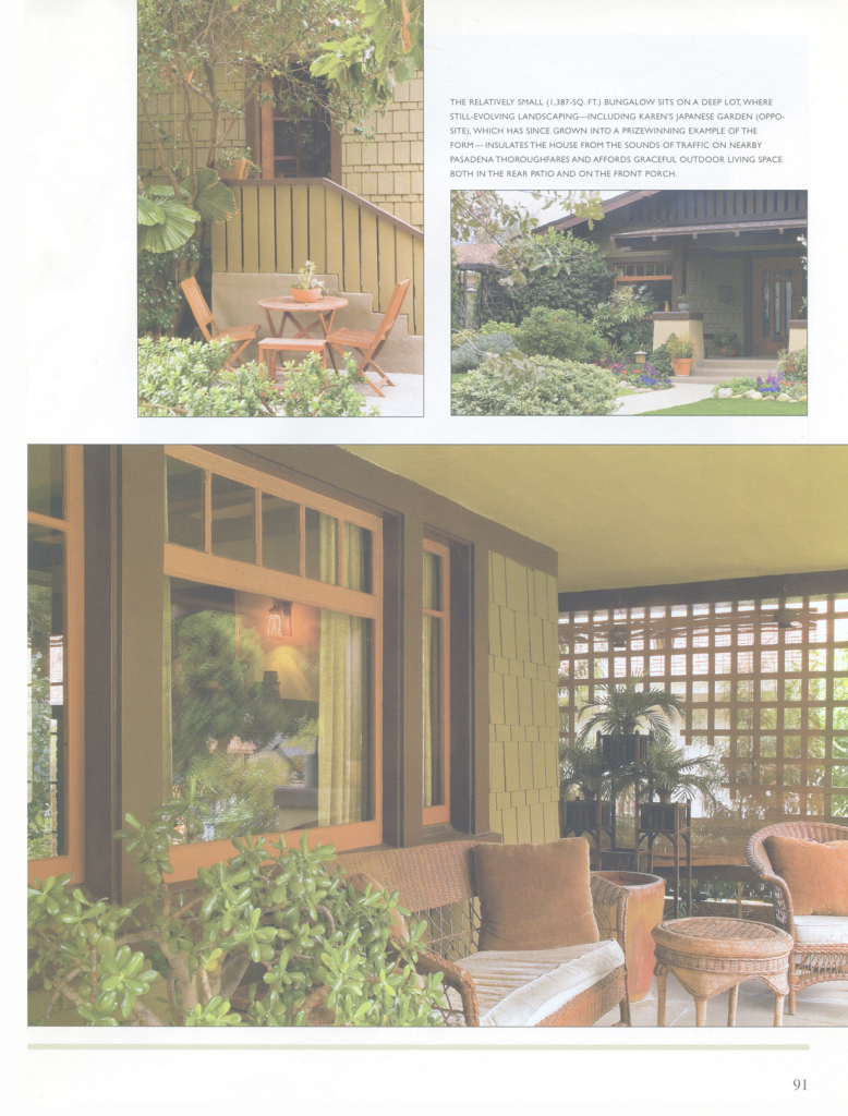 Epic Karen Teneyck ::: Media ::: American Bungalow Magazine - Craftsman for Beautiful American Bungalow Magazine