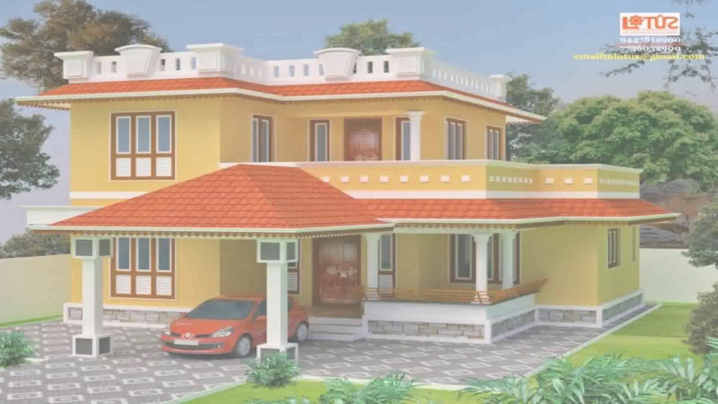 Epic Kerala Style Low Cost House Plans - Youtube inside Kerala Style House Plans With Cost