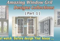 Epic Latest Window Grill Designs ( Part 1 ) – Youtube throughout Beautiful Latest Window Grill Design Photos
