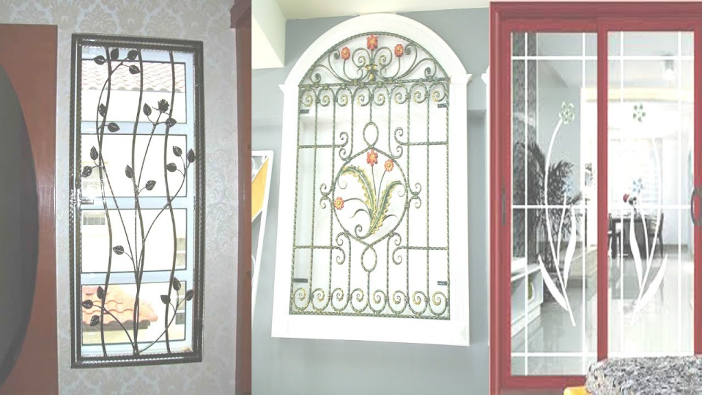 Epic Latest Window Grill Designs - Youtube in Beautiful Latest Window Grill Design Photos