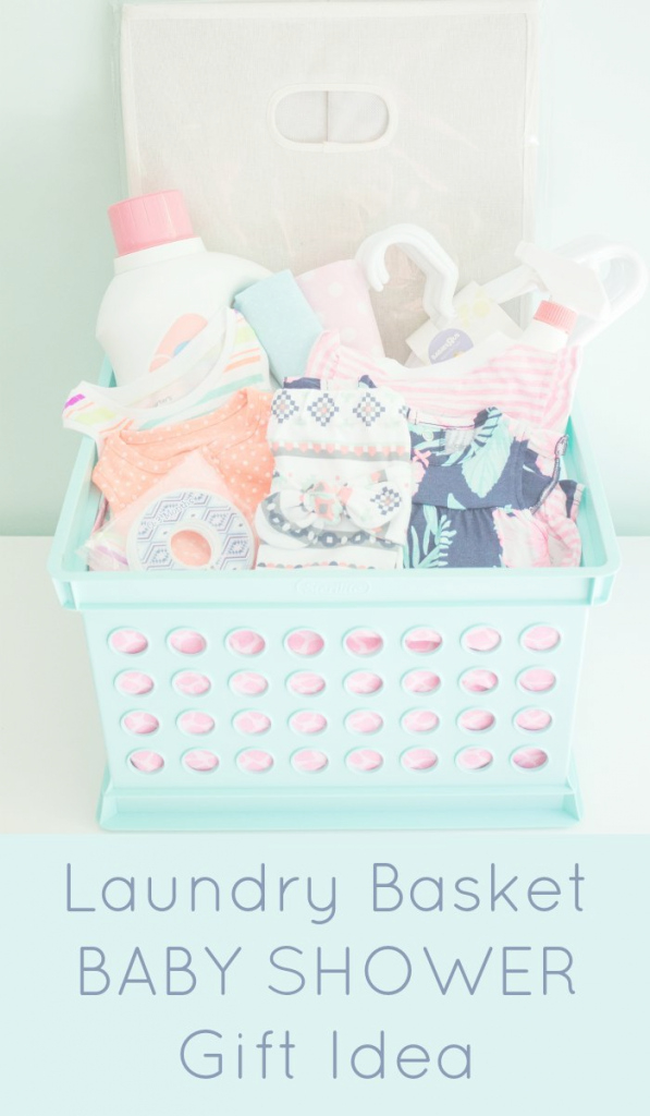 Epic Laundry Basket Baby Shower Gift | Pinterest | Laundry, Babies And Gift pertaining to Lovely Pinterest Baby Shower Gifts