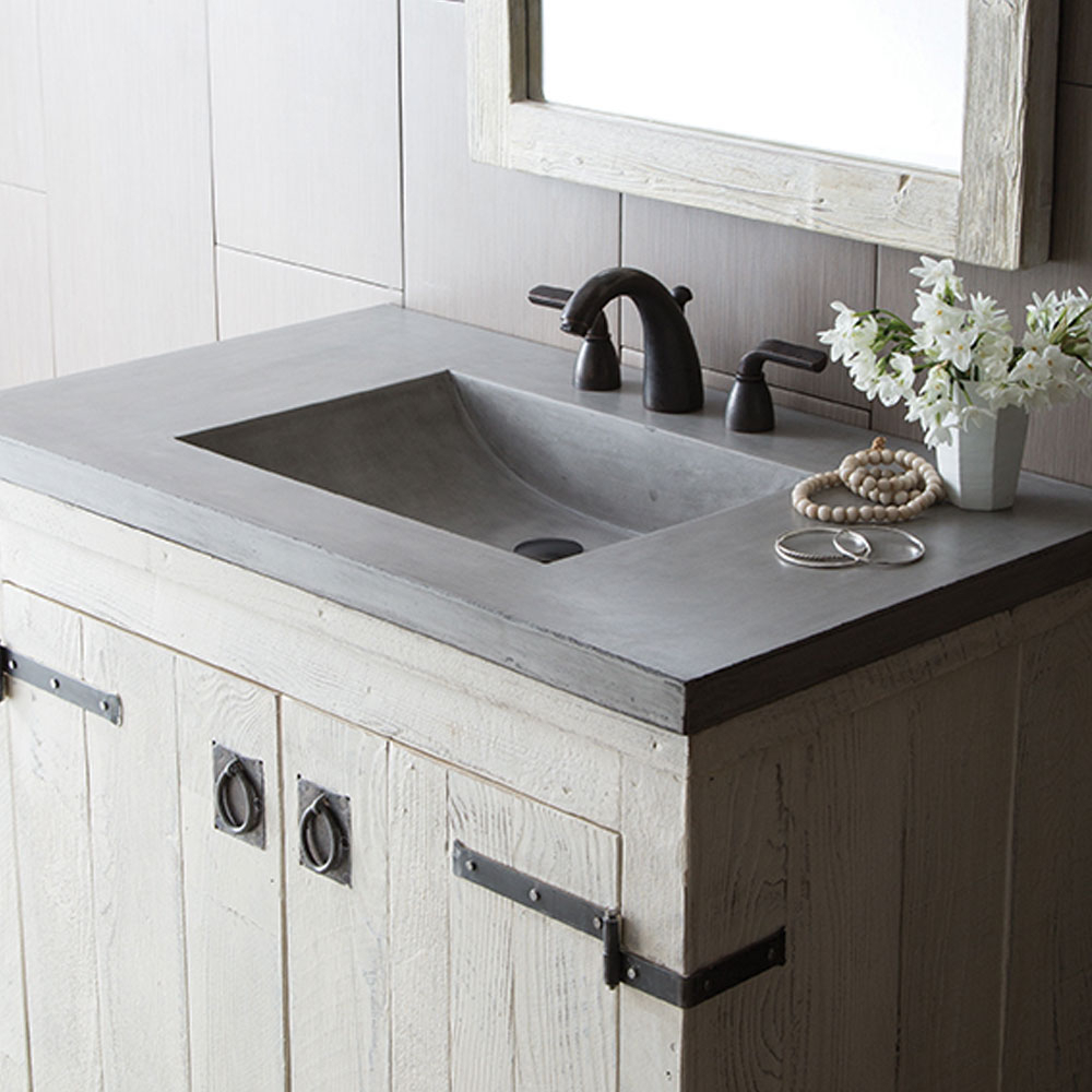 Epic Luxury Bathroom Vanity Tops | Native Trails with Bathroom Vanity With Top