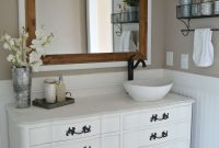 Epic Master Bathroom Vanity Inspirational Farmhouse Style Bathroom Vanity regarding Farmhouse Style Bathroom Vanity