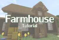 Epic Minecraft Farmhouse Tutorial – Youtube inside Minecraft Farmhouse Design