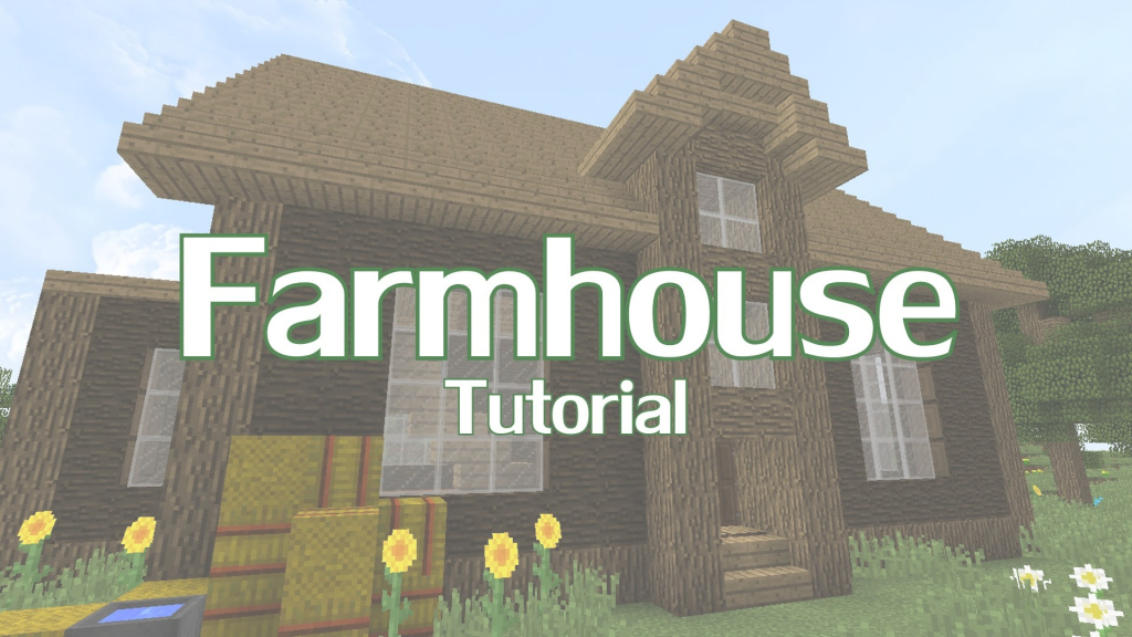 Epic Minecraft Farmhouse Tutorial - Youtube inside Minecraft Farmhouse Design