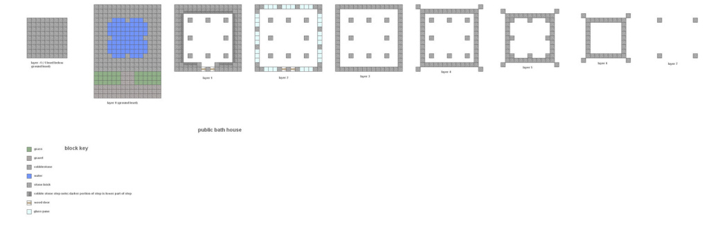 Epic Minecraft Floorplans Public Bathfalcon01-Dcoltcoyote On with Minecraft Mansion Floor Plan
