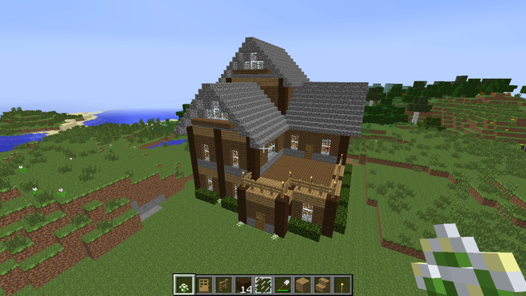 Epic Minecraft House New 7 Wallpaper, Download Minecraft House New Free within Minecraft Cool Houses Download