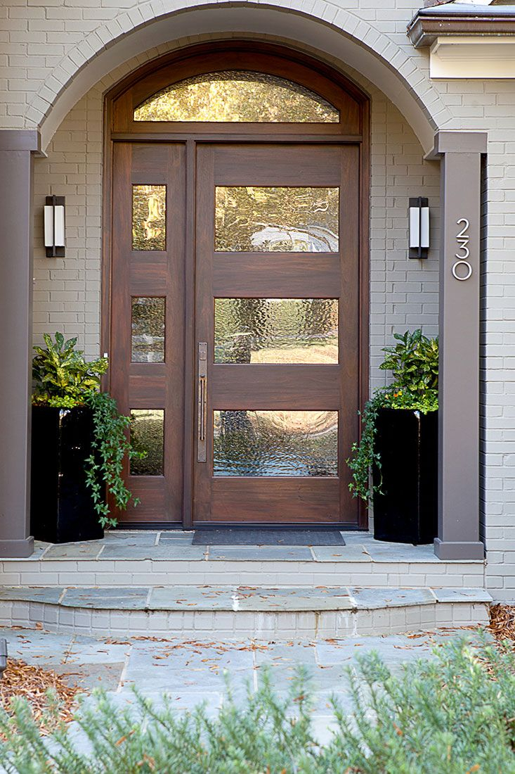 Epic Modern Front Door // Home Interiors // Interior Designbarbour throughout Door And Window Design Image