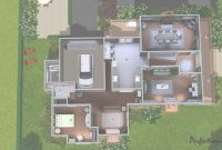Epic Modern House Plan Sims 4 Luxury House Plan Baby Nursery Sims House regarding Sims House Plans