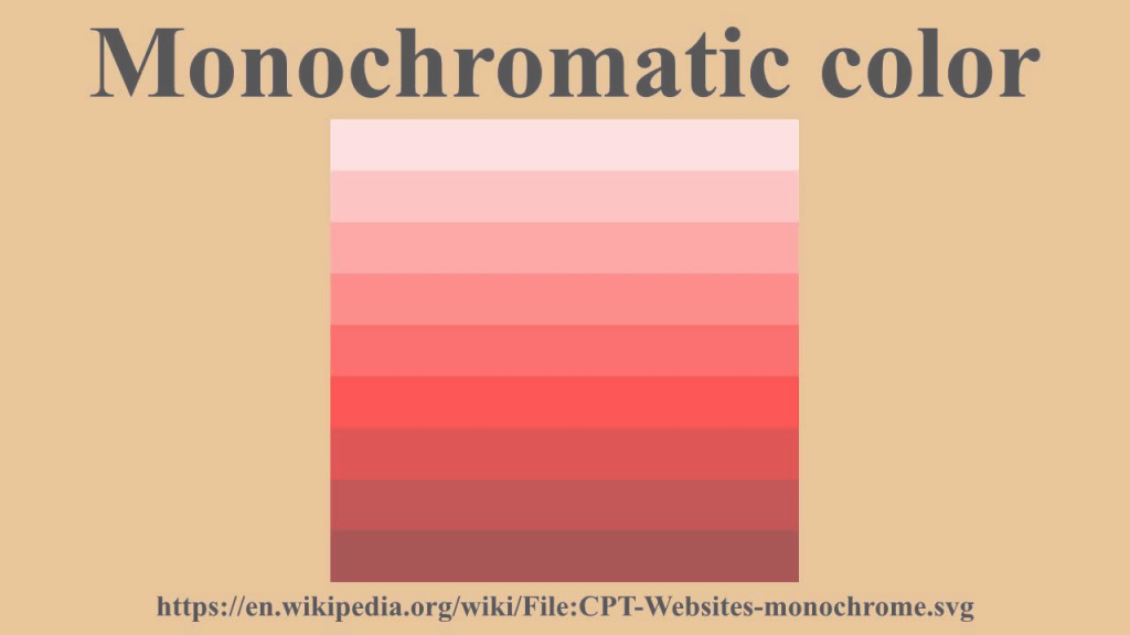 Epic Monochromatic Color - Youtube within Lovely Monochromatic Colors