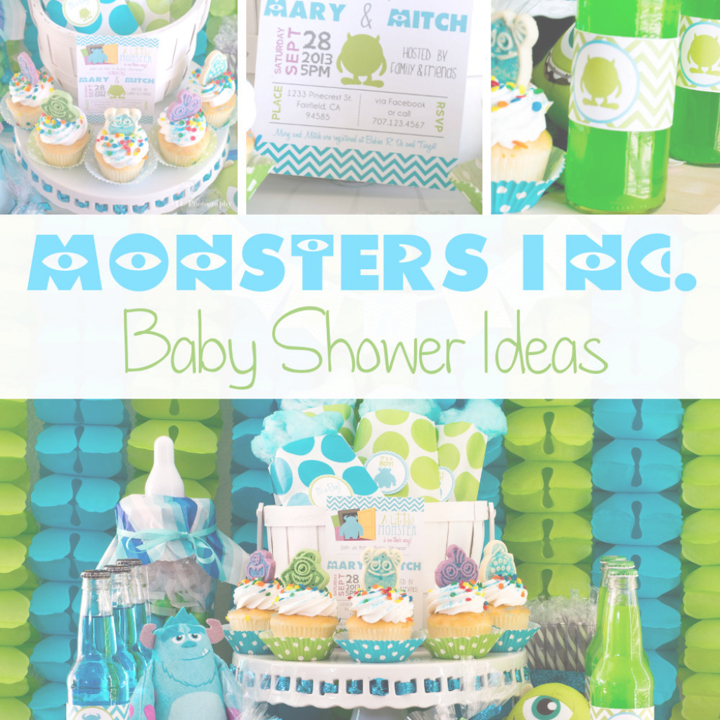 Epic Monsters Inc. Baby Shower Ideas within Monsters Inc Baby Shower Cake