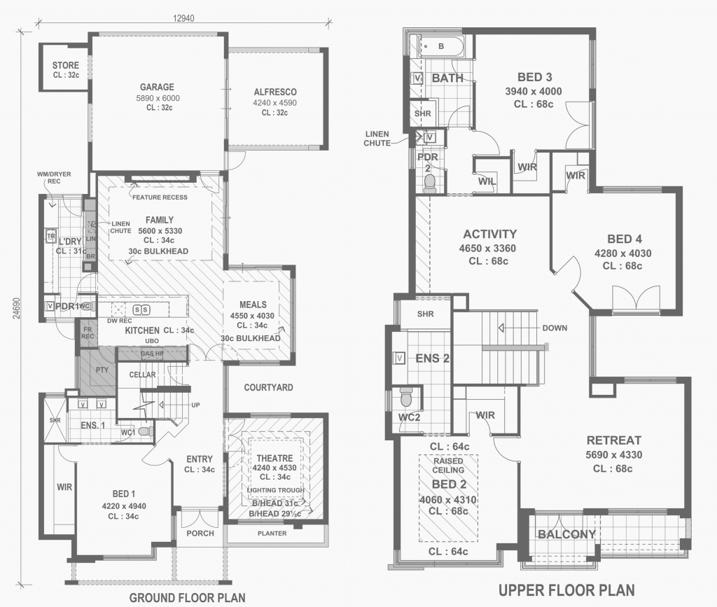 Epic New House Floor Plans Photograph regarding Modern House Floor Plans