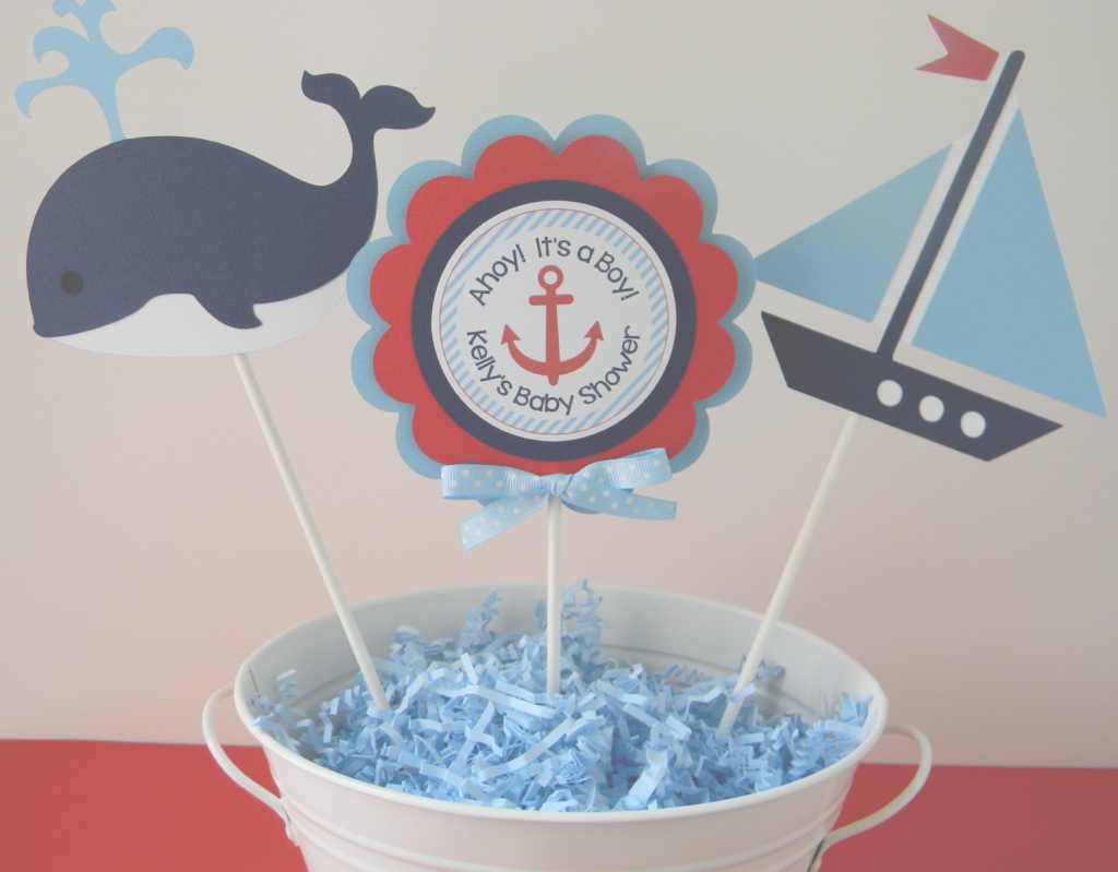 Epic Nice Nautical Theme Baby Shower Decorations 17 - Wyllieforgovernor within Unique Nautical Theme Baby Shower Decorations