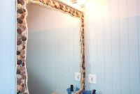 Epic Ocean Bathroom Mirror – Neat But I Think It's A Bit Much For My regarding Beach Themed Bathroom Mirrors