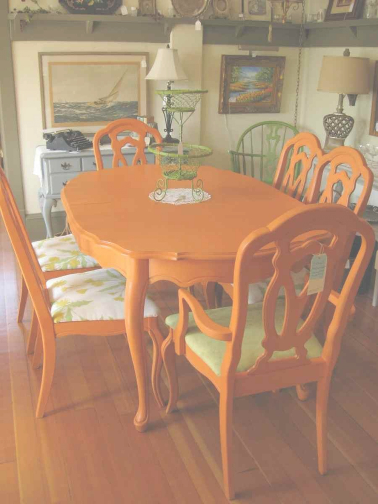Epic Orange Dining Room Chairs - Idanonline with regard to Awesome Orange Dining Room