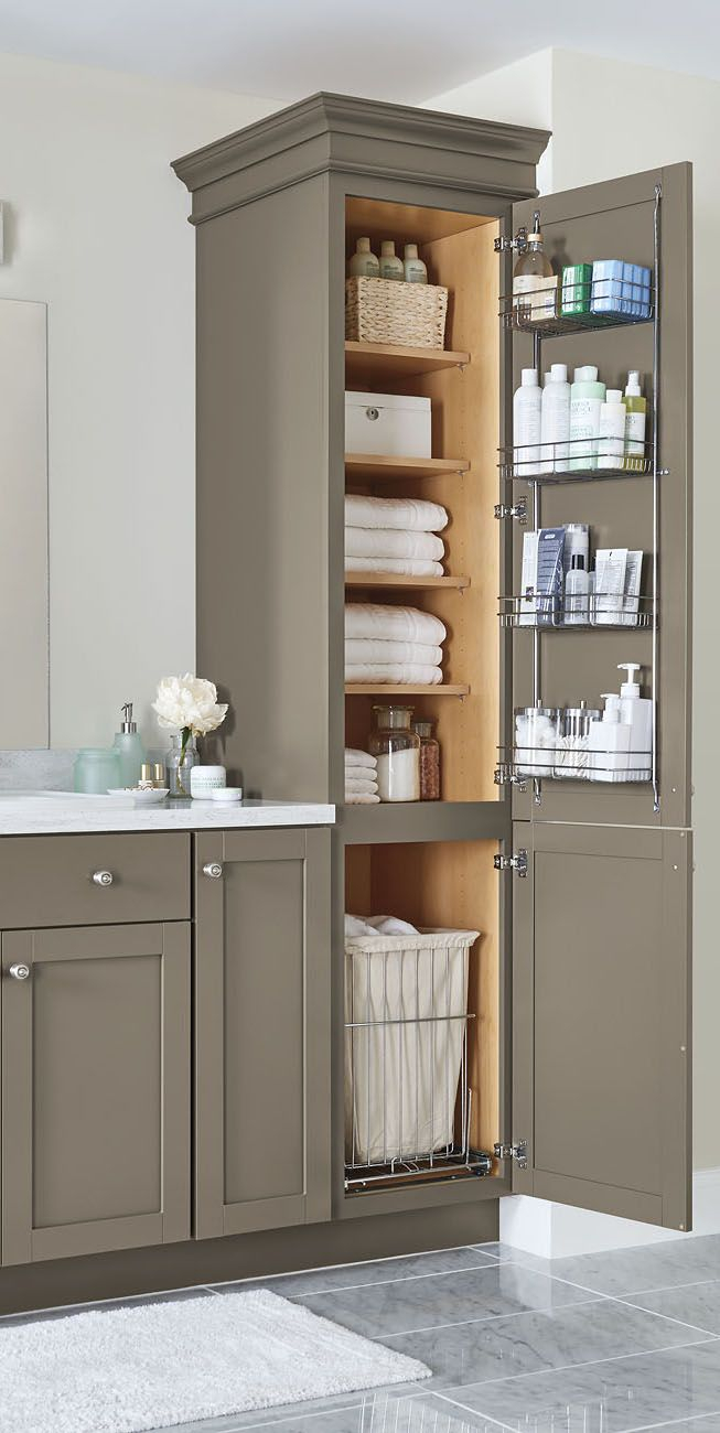 Epic Our Top 2018 Storage And Organization Ideas—Just In Time For Spring for Bathroom Vanity Storage