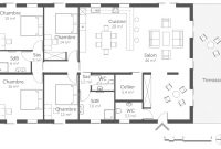 Epic Plan Maison 4 Chambre 1 307963 3527 – Choosewell.co for Plan De Maison