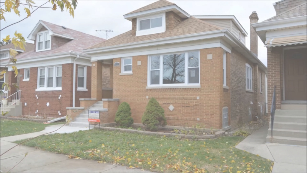 Epic Portage Park Home For Sale Rehabbed Chicago Bungalow - Youtube inside Beautiful Chicago Bungalow