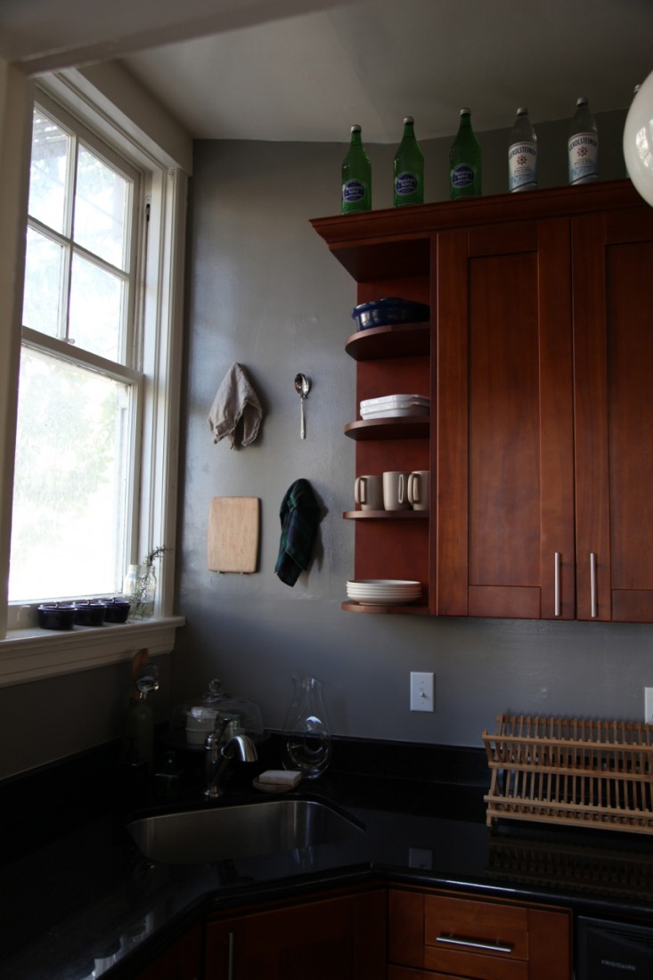 Epic Rental Rehab: Small Kitchen Makeover - Remodelista within Lovely Rental Kitchen Makeover