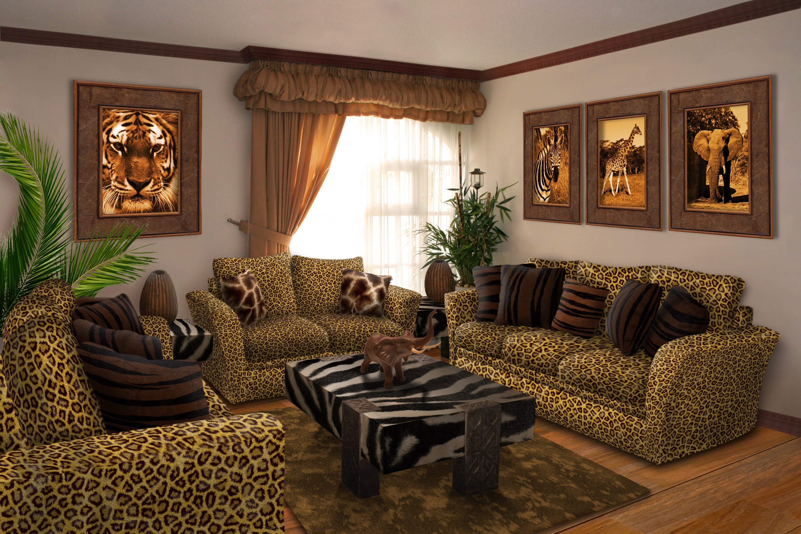 Epic Safari Living Room Furniture : Restmeyersca Home Design - Elegant within Living Room Themes