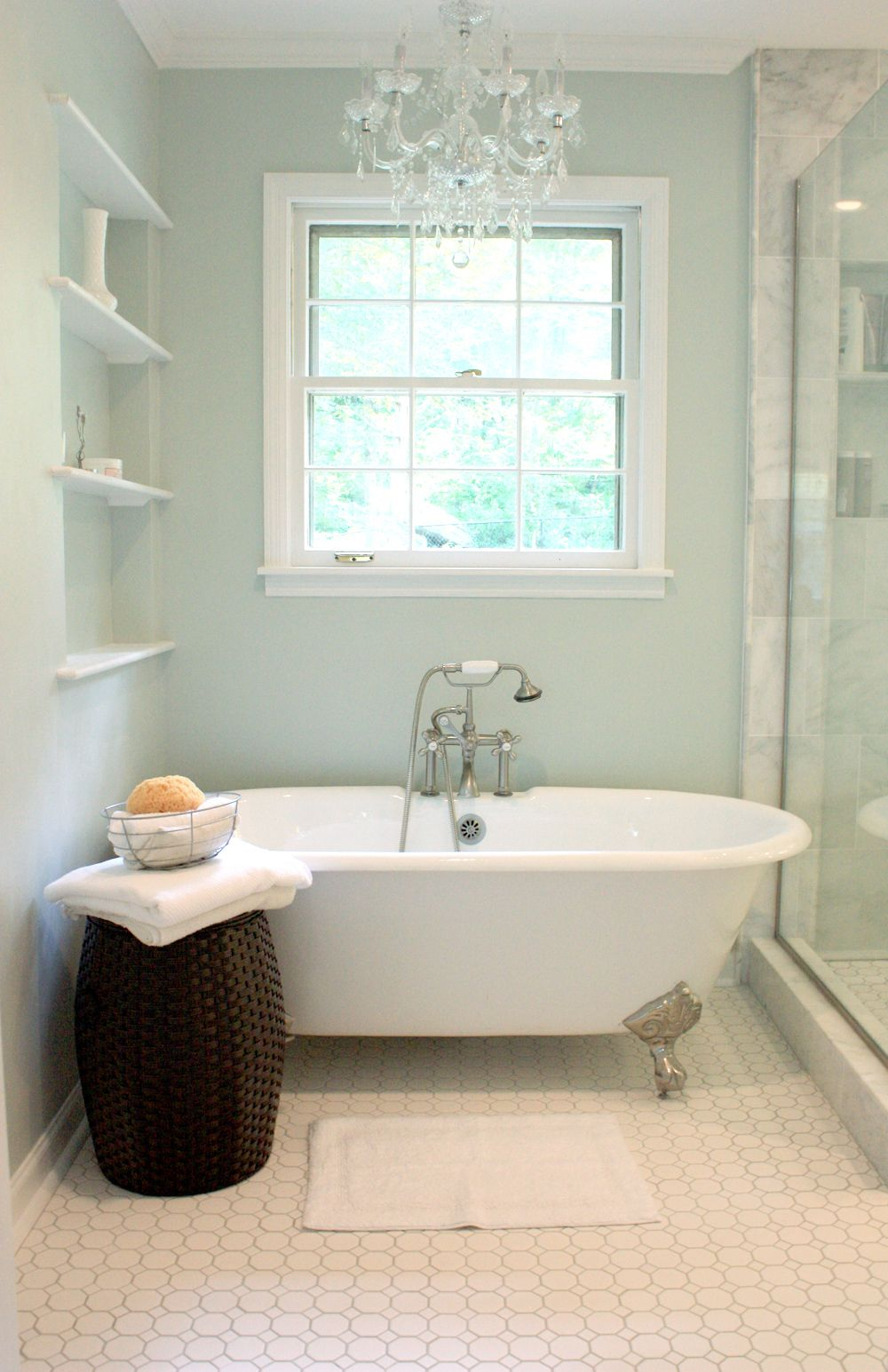 Epic Sea Saltsherwin Williams This Is The Color I'm Using For My throughout Master Bathroom Color Ideaslittle Girl Bath