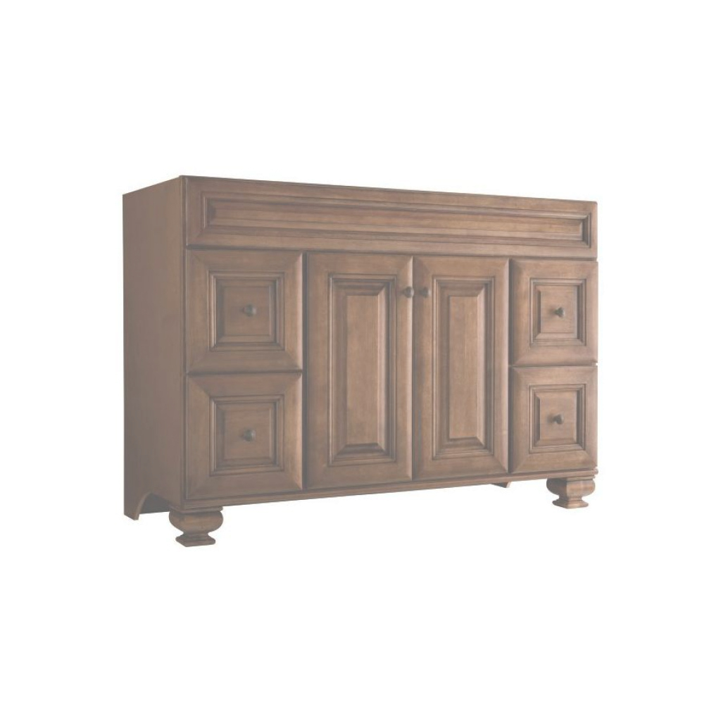Epic Shop Diamond Freshfit Ballantyne Wall-Mount Mocha With Ebony Glaze inside Lovely 48 Inch Bathroom Vanity Without Top